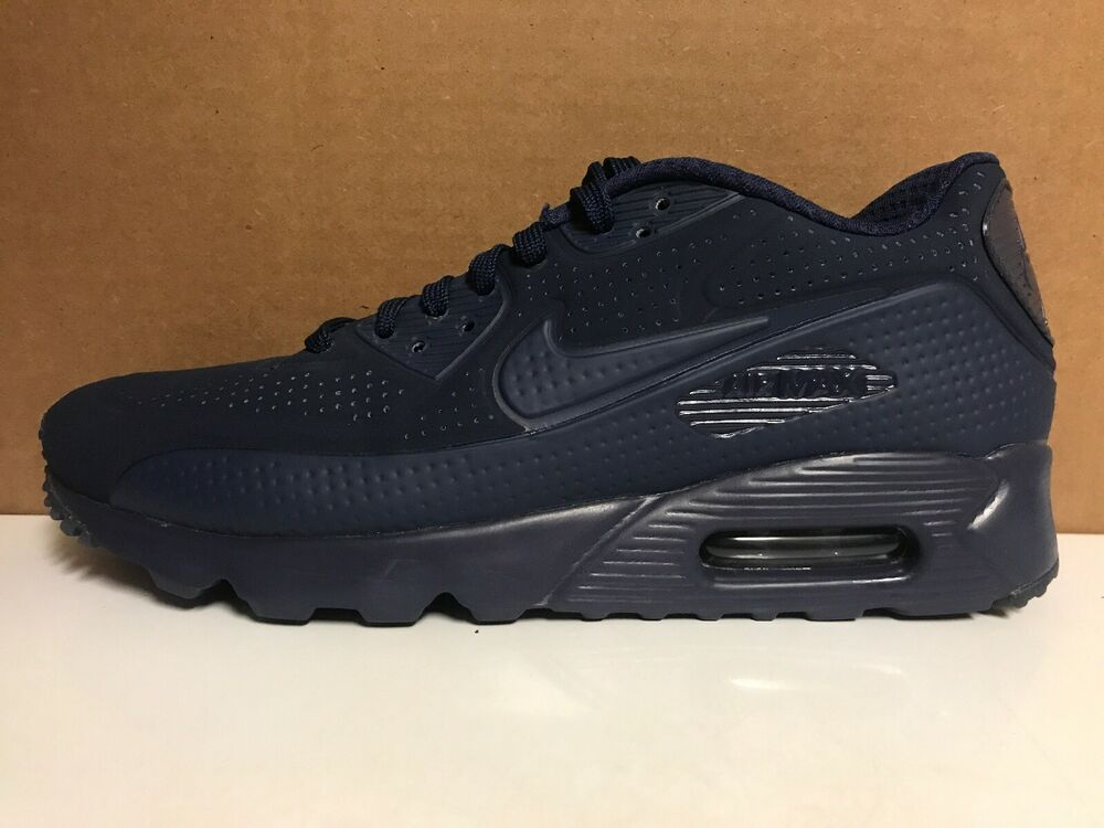 promo code 5582a ff6f7 Details about Nike Air Max 90 Ultra Moire 819477 400 Men s Size 8 Midnight  Blue Shoes New