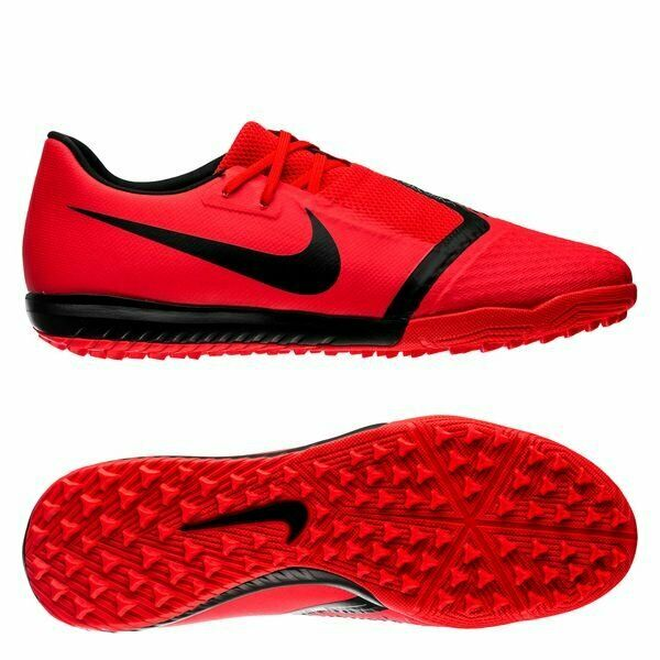 new product 9caf5 d4fad Details about Nike Phantom VNM Venom Academy TF Turf 2019 Soccer Shoes Red  Silver Kids Youth