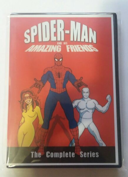 Spider-Man And His Amazing Friends Complete Series 4 DVD Set FREE SHIPPING