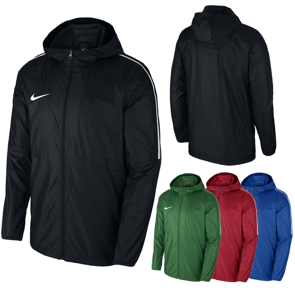 7ca38d10b8f7 Details about Boys Nike Rain Jacket Waterproof Coat Sports Running Junior  Youth Size S M L XL