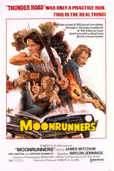 Moonrunners 1975 UNRELEASED DVD. FREE FAST SHIPPING. US SELLER