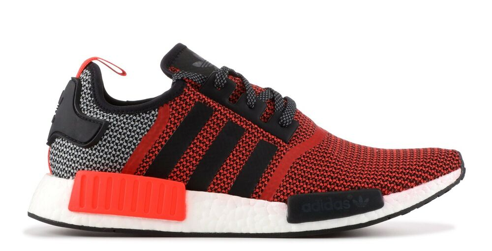 0166be88ae931 Details about adidas Originals NMD R1 Runner S79158 Lush Red Core Black UK  17 EU 53 1 3 US 18