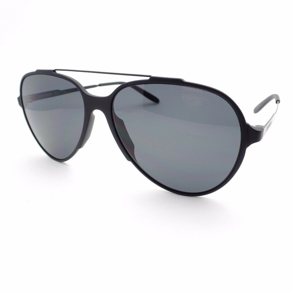 aab3df88407 Details about Carrera 118 GTNP9 Matte Black Grey New Sunglasses Authentic
