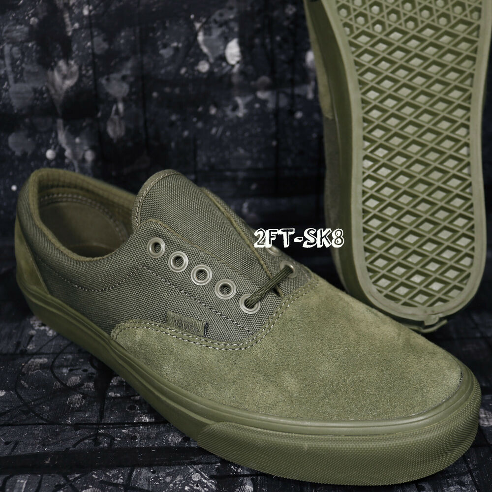 e1a6e2dbf3 Details about VANS ERA MILITARY MONO WINTER MOSS GREEN MENS SIZE 10.5 SKATE  SHOES  92245.175