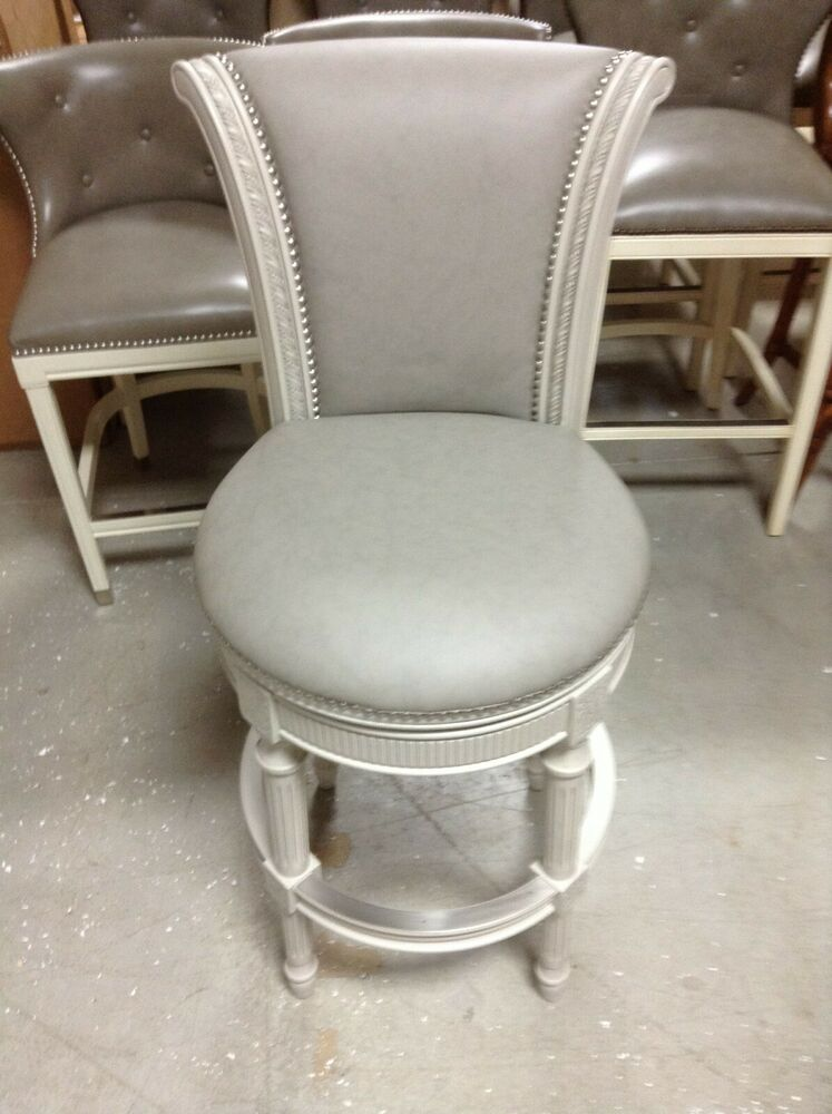 Frontgate Chapman Swivel Counter Bar Stool 30 Quot Seat Height