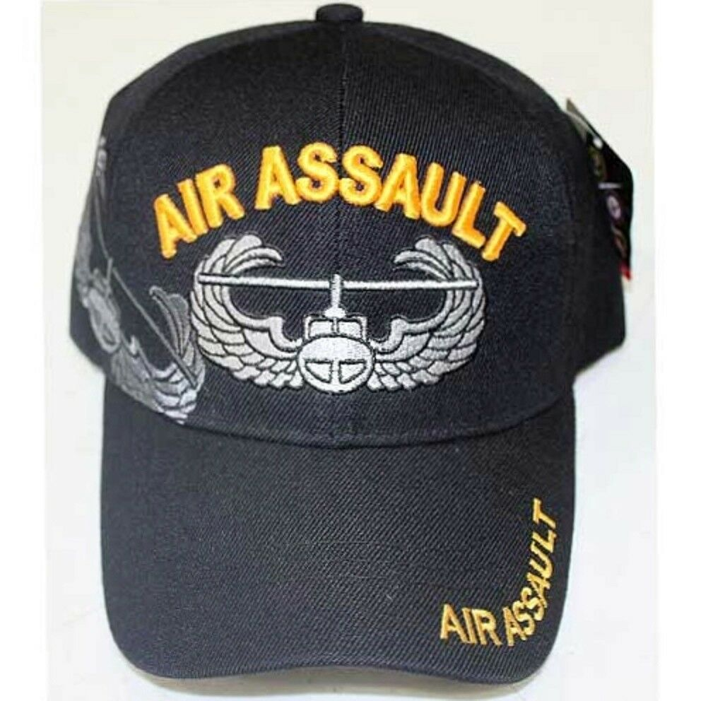 Details about US Army Air Assault Ball Cap Vietnam OEF OIF Cavalry 101st  Airborne Hat SHADOW 89ae6c22ac30
