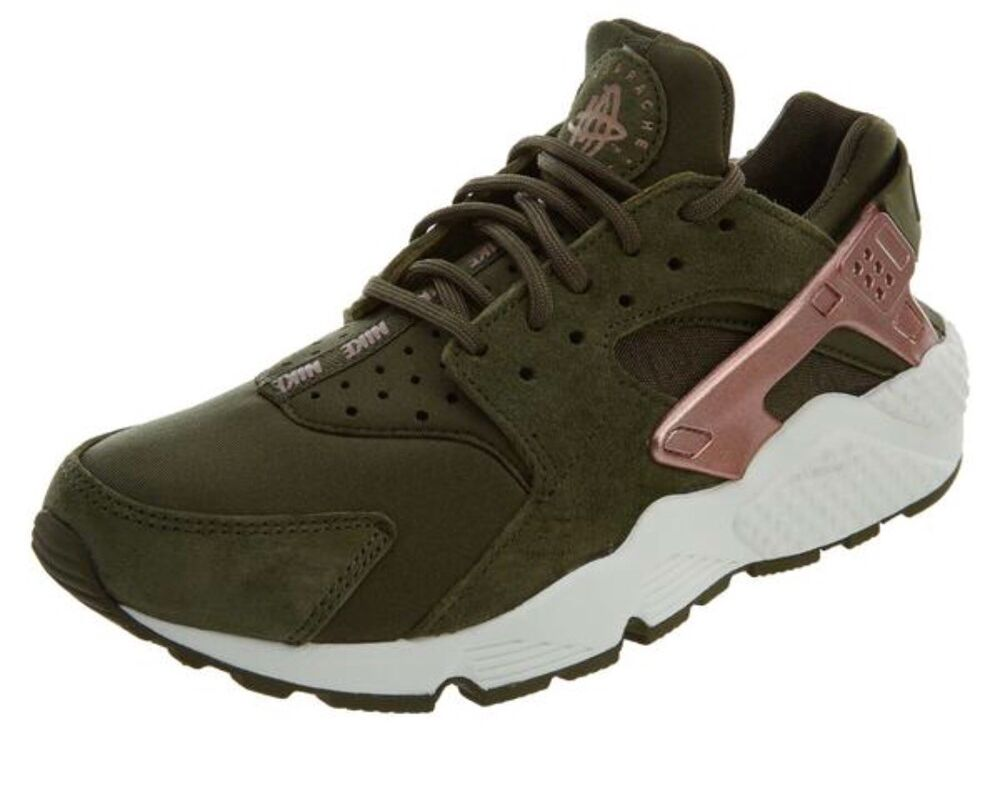 d1533a5bb95d Details about Nike Women s Air Huarache Run AT5700 300. Olive Rose Gold.