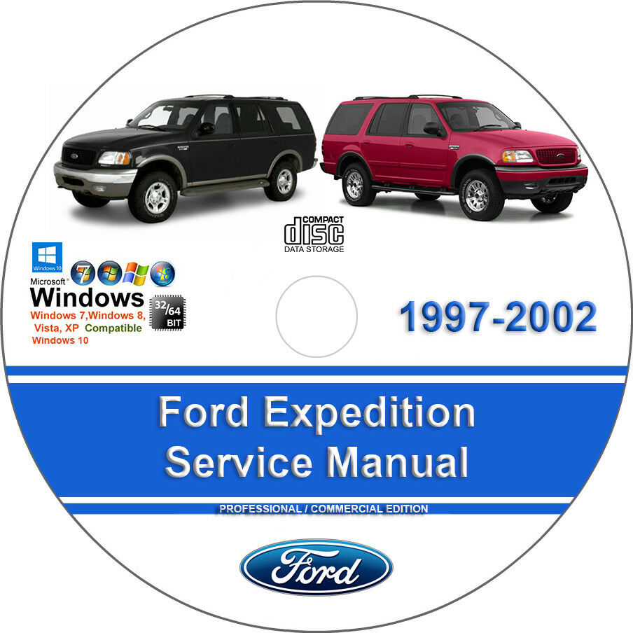Details about Ford Expedition 1997 1998 1999 2000 2001 2002 Factory Service Repair  Manual