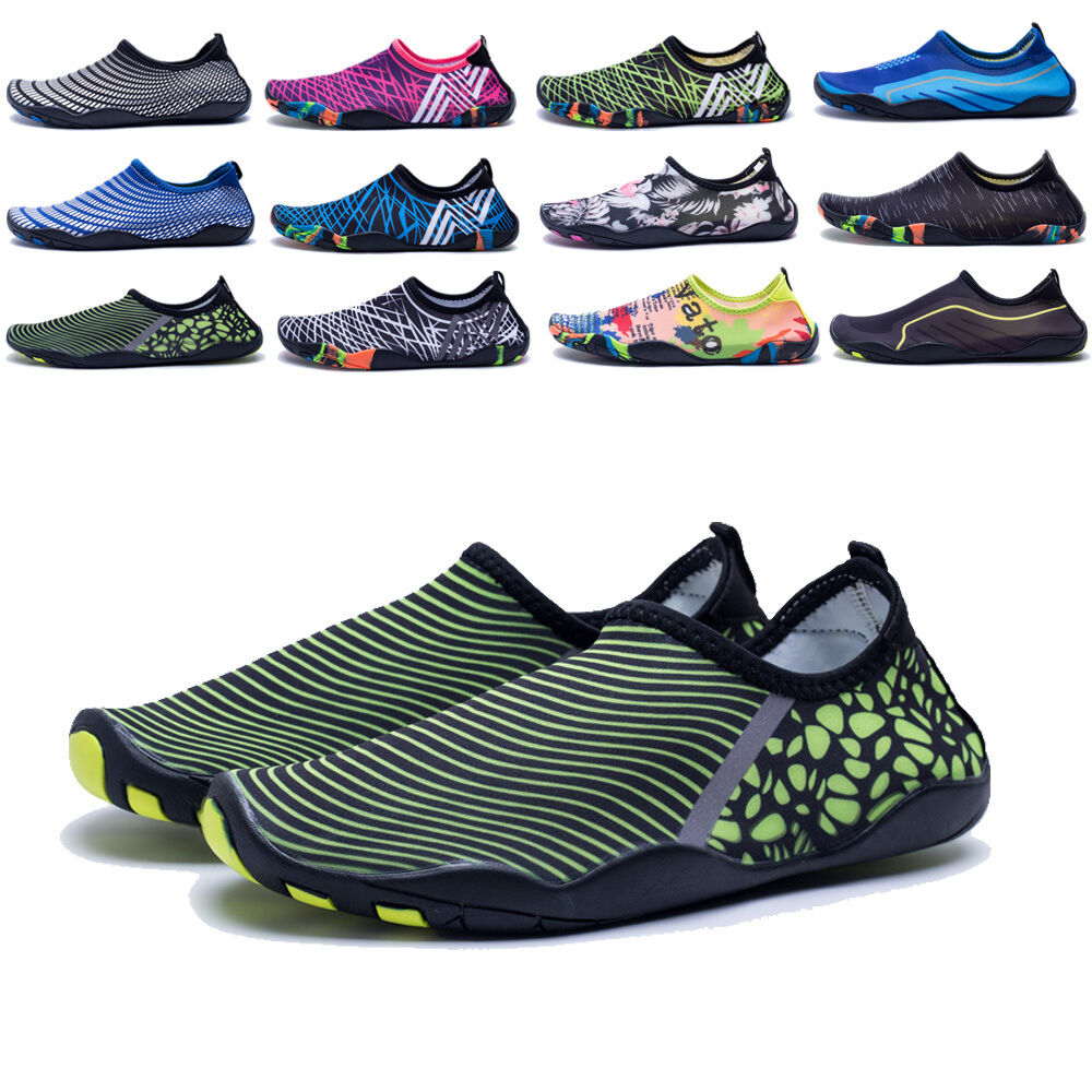 new product 0ef52 6fbe6 Details about Women s Water Aqua Wet Shoes Quick Drying Beach Walking Sport  Slip On Exercise