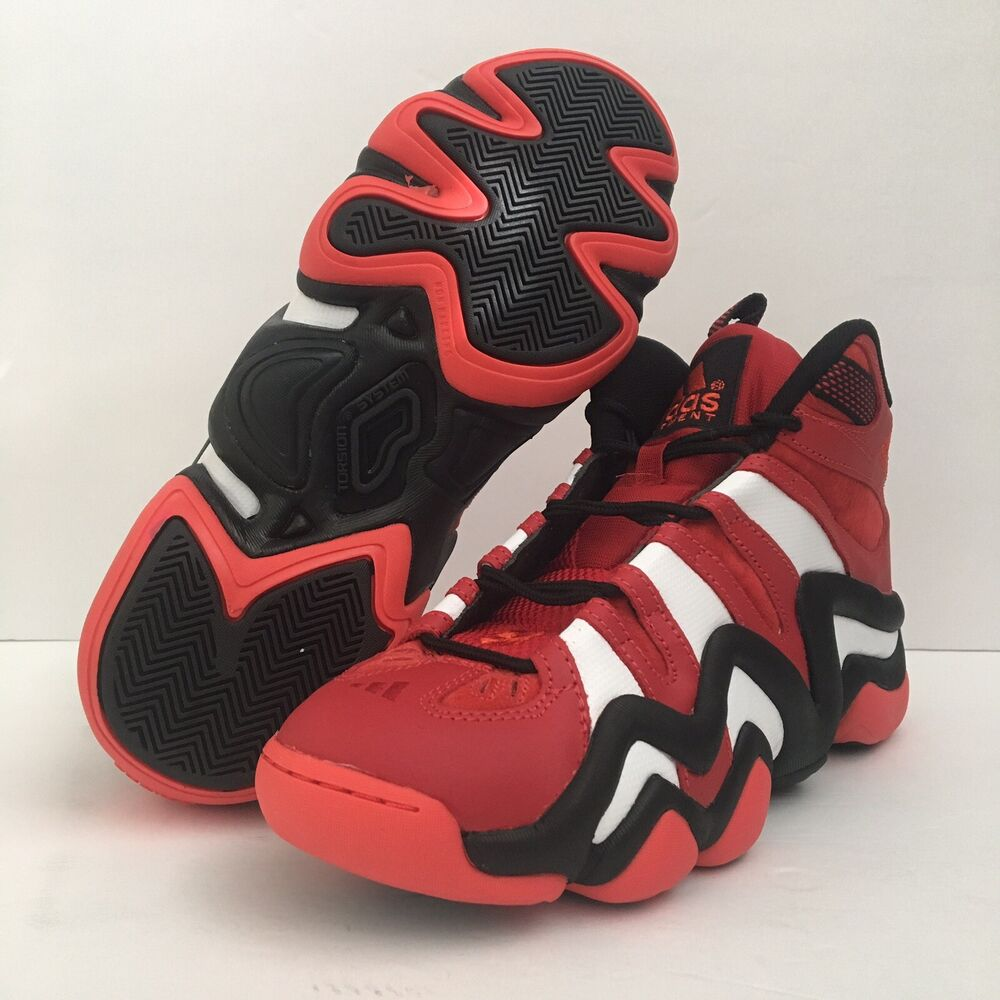 011bfb1f915e Details about Adidas Crazy 8 Red White Kobe Bryant Mens Basketball Shoes  G20784 Size 9 New