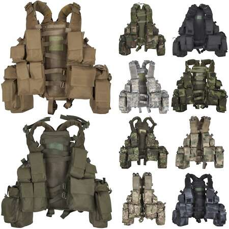img-MFH South African Assault Vest Airsoft Paintball Tactical Military Army Combat