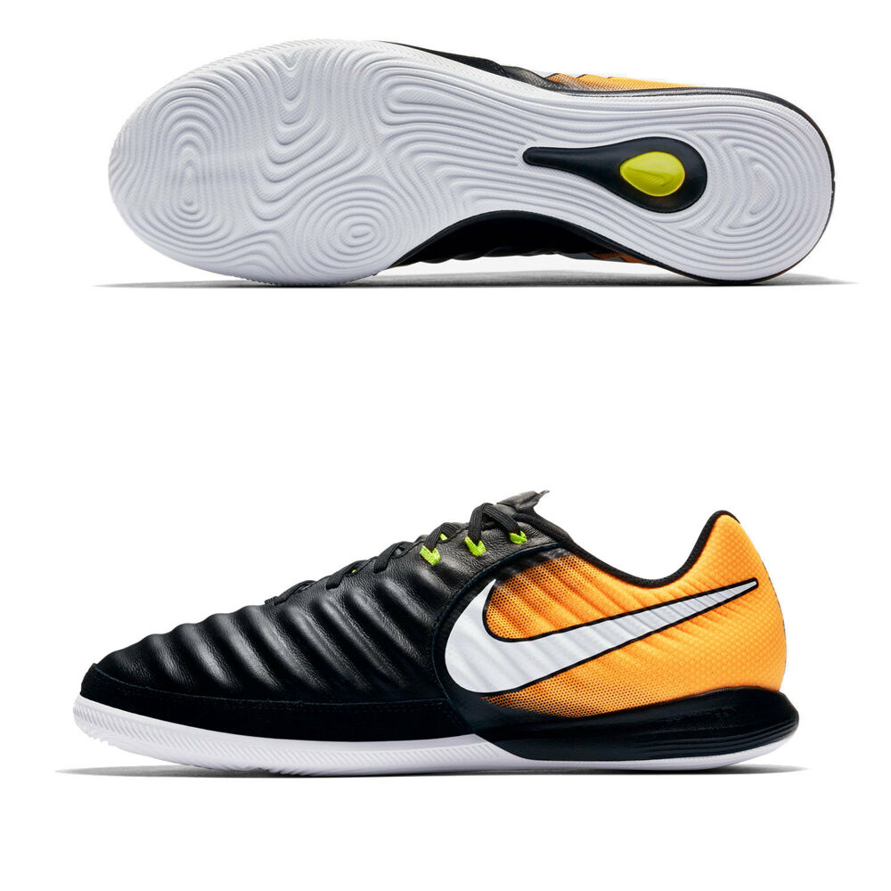 3aec62a7d9d Details about Nike JR Tiempo X Proximo II IC Indoor Youth Soccer Shoes  Black-Orange 897732-008