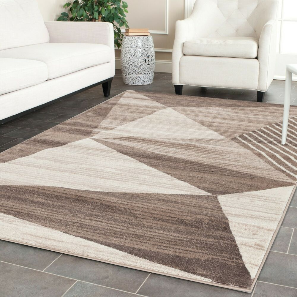 Area Rug ST122 Premium Quality. Contemporary Modern. Size