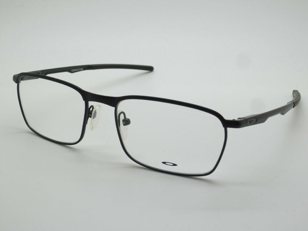 88fa85a9cc5ce Details about NEW Authentic OAKLEY Conductor OX3186-0154 Satin Black 54mm  Rx Eyeglasses