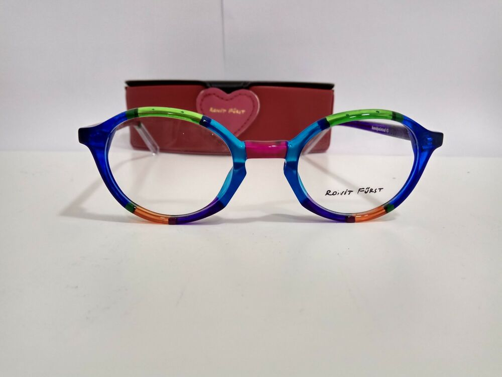7b7a81c02a6 Brand New Authentic RONIT FURST RF 2702 Hand painted Eyeglasses eyewear  Frame