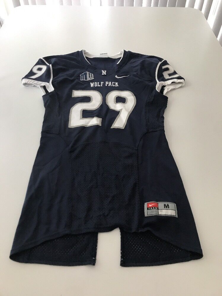 new arrival bce24 c4871 Game Worn Used Nevada Wolfpack Football Jersey Nike Size M ...