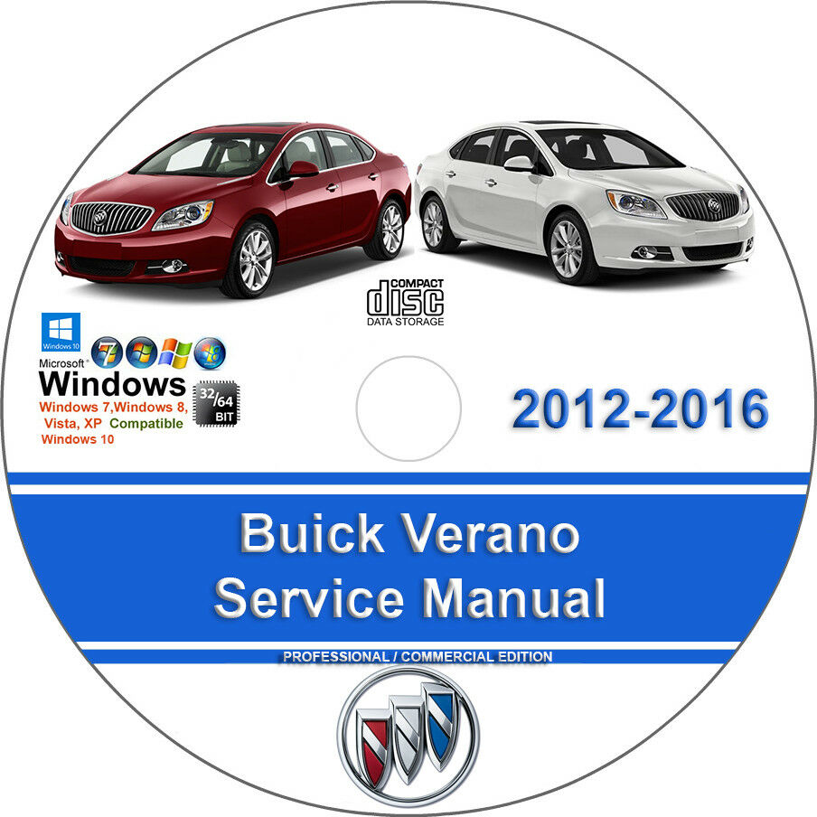 Buick Verano 2012 2013 2014 2015 2016 Factory Workshop