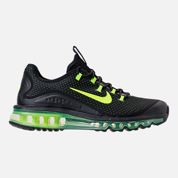 4fe314278a7 Details about AUTHENTIC NIKE AIR MAX MORE Black Volt AR1944 001 Running  Shoes Men size