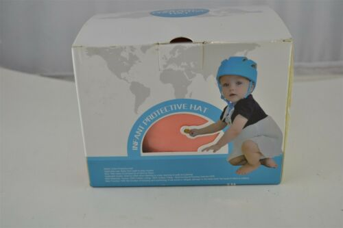 Baby Adjustable Safety Helmet Infant Protective Harnesses Cap peach