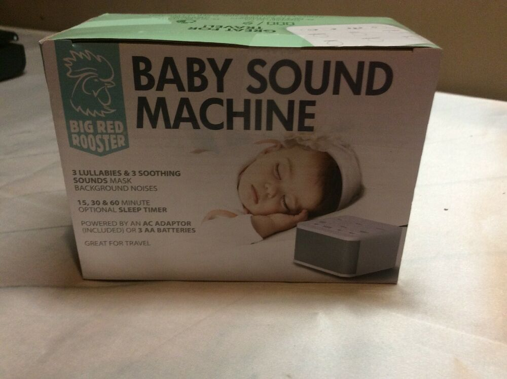 Big Red Rooster Brrc129 Baby Sound Machine With 3
