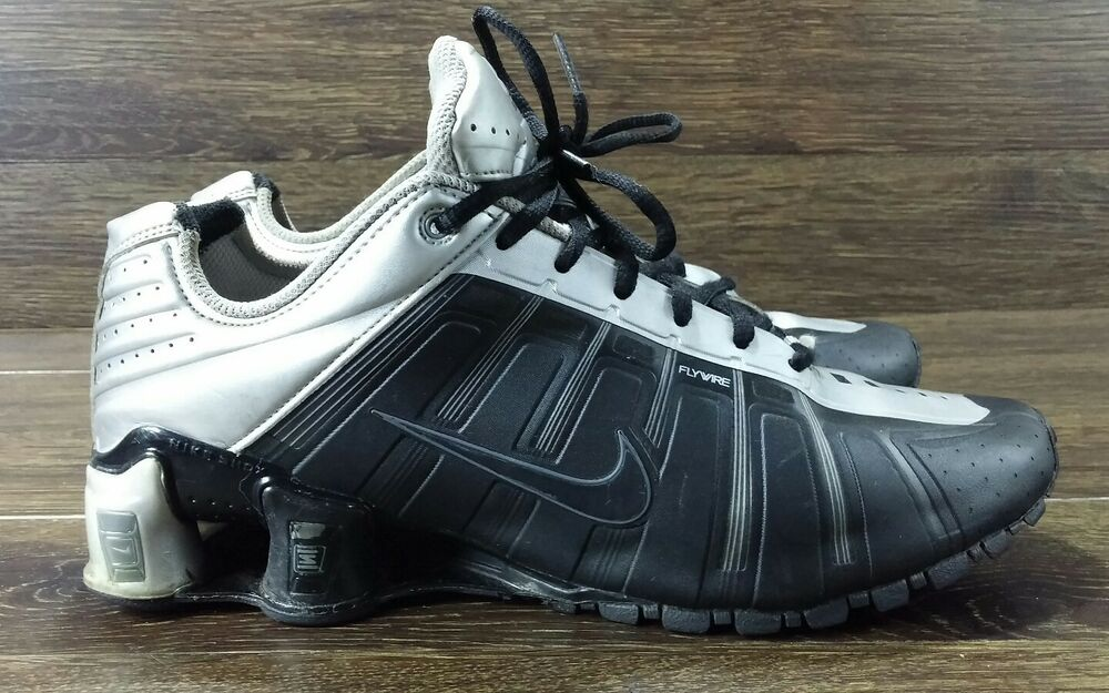 los angeles ece36 838d7 Details about Nike Shox O Leven Black Grey Mens Size 9 429869-102 Running  Shoe Sneakers