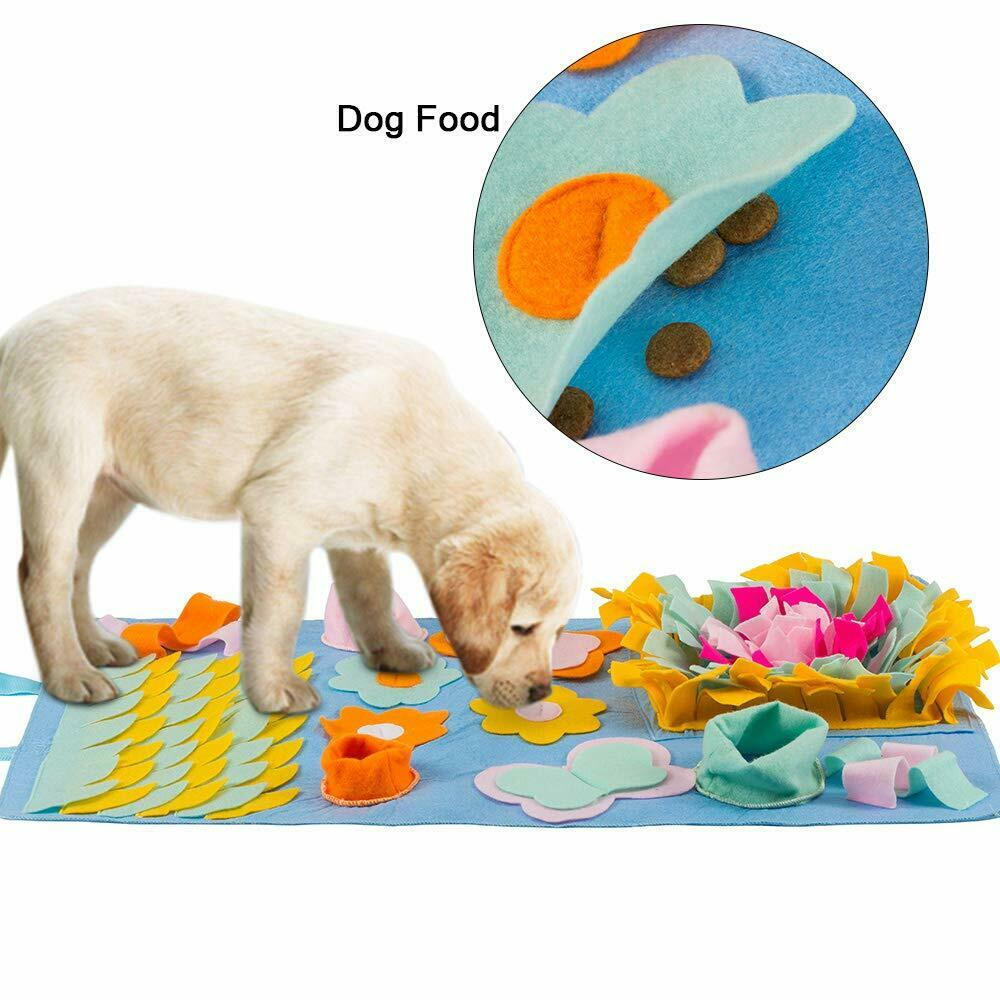 Dog Snuffle Mat Pet Puzzle Toy Sniffing Training Pad