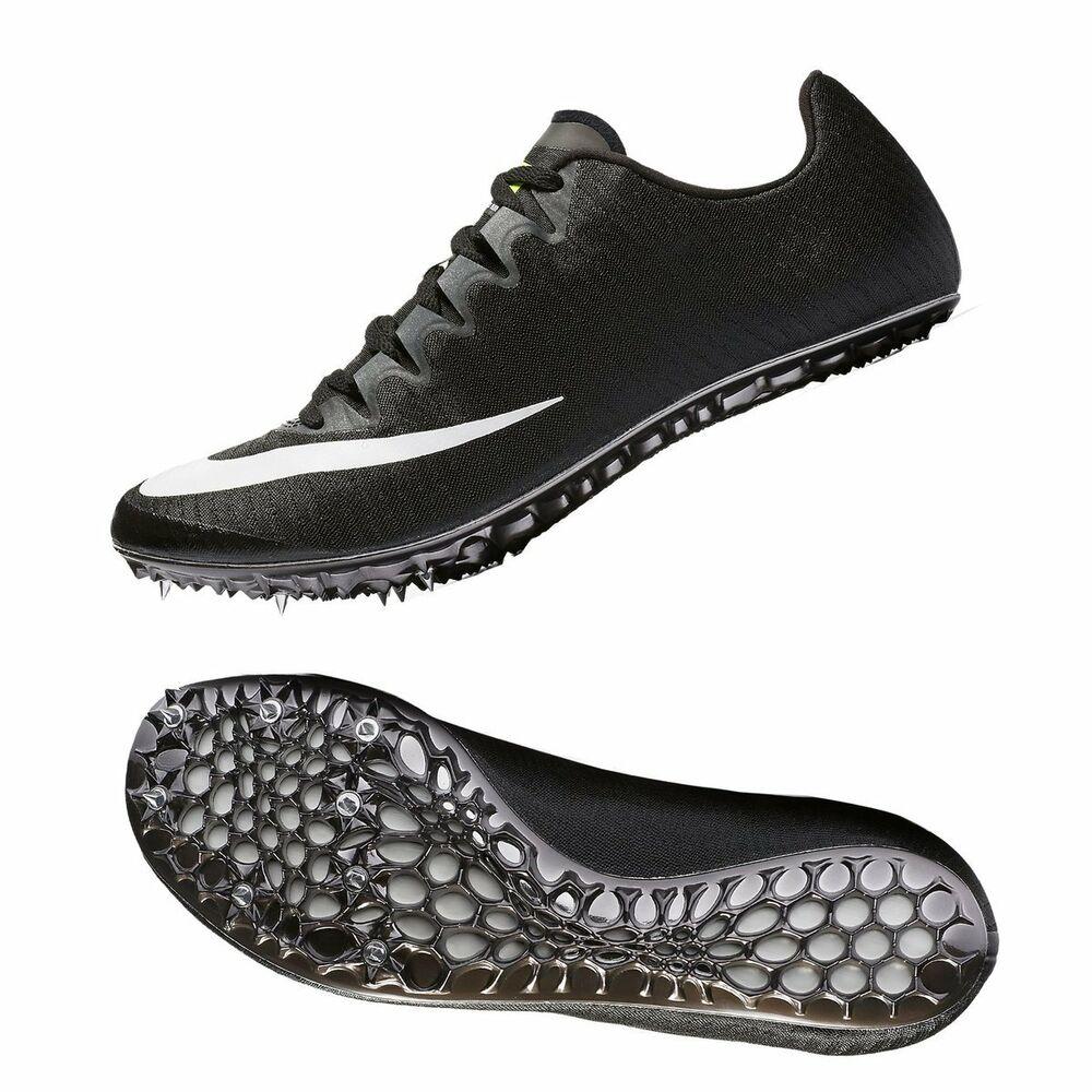 best service 0f11c 5e1e9 Details about New Nike Superfly Elite Racing Spike Shoes Sprint Running  Black-White 835996-017
