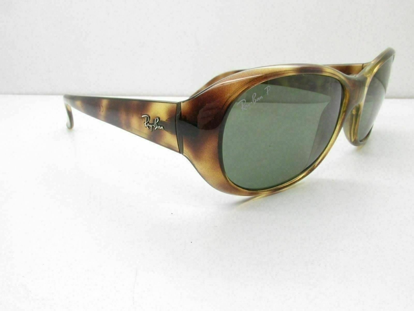 438160a789 UPC 805289079453 product image for Ray Ban Polarized Rb 4061 Prescription  Unisex Brown Sunglasses Black Case ...