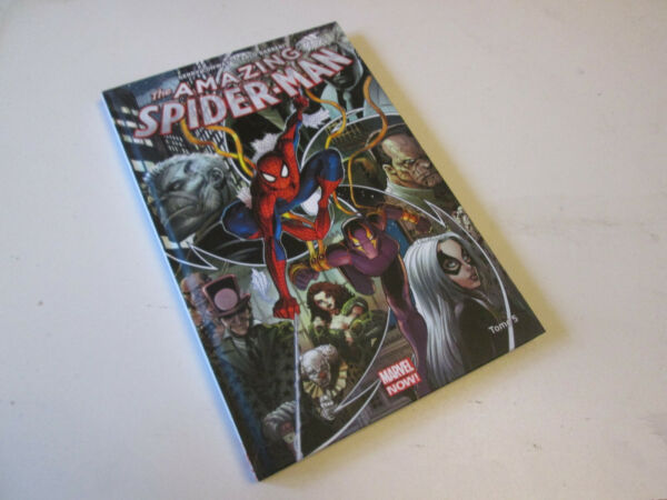 MARVEL NOW  .. the amazing SPIDER-MAN .. T5. Panini Comics ... COMME NEUF