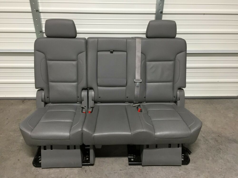 2007 2018 Suburban Escalade Esv Yukon Xl 2nd Row Gray