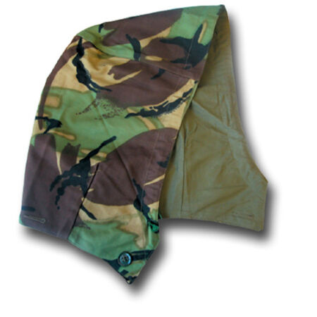 img-1968 PATTERN DPM CAMOUFLAGE COMBAT HOOD, COTTON LINED, BUTTON-ON, SIZE 1 [18011]