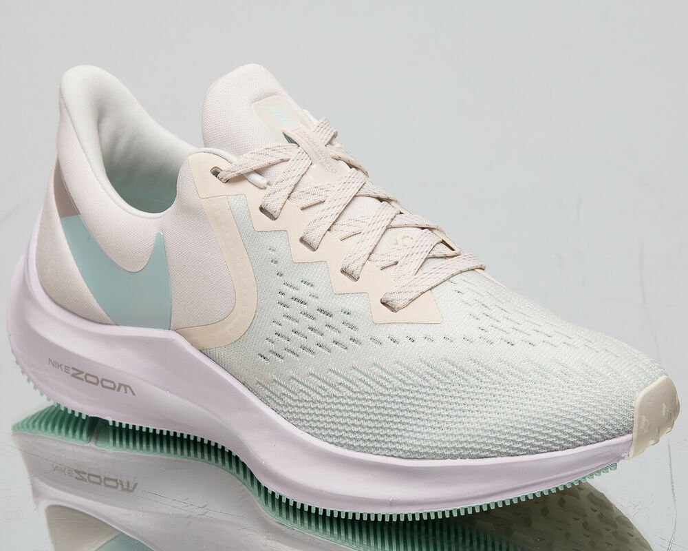 260da2ec9 Details about Nike Zoom Winflo 6 Womens Pale Ivory Sneakers Running Shoes  AQ8228-101