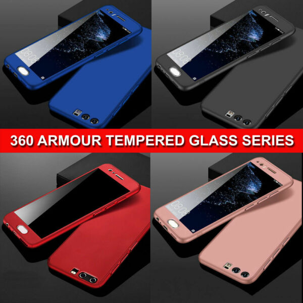 Case for Huawei P SMART 2019 Shockproof FULL BODY Case & Screen Protector