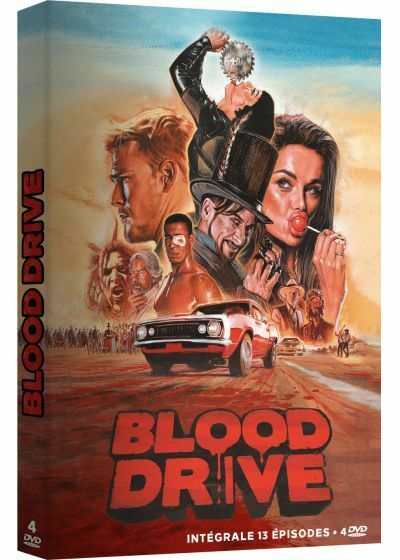 DVD BLOOD DRIVE INTEGRALE NEUF