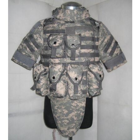 img-New OTV Tactical Vest Body Armor With Pouch/Pad Size LARGE ACU Replica--Airsoft