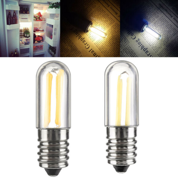 Dimmable Mini E14 E12 1W 2W 3W LED Fridge Freezer Filament Light Bulb Lamp RC857