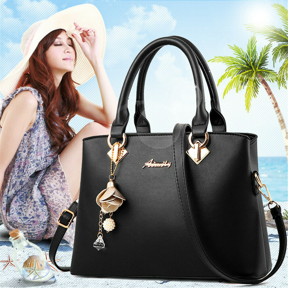85476fd486f84 Details about Women Top Handle Satchel Handbags Shoulder Bag Top Purse  Messenger Tote Bags Big