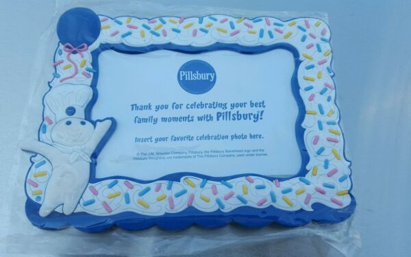 Pillsbury Doughboy Funfetti Picture Frame - Poppin' Fresh Mail-In Item - RARE