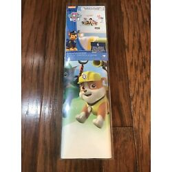 NEW Paw Patrol Wall Decals 6 Decals