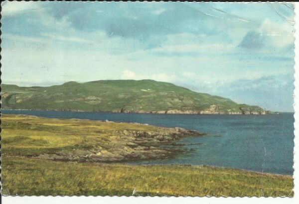 OLD ORDNANCE SURVEY MAP DUNFANAGHY CARRICKART /& NW DONEGAL 1899 HORNHEAD TAWNY