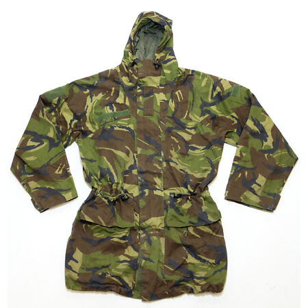 img-Dutch army surplus bi-laminate waterproof DPM camouflage hooded parka