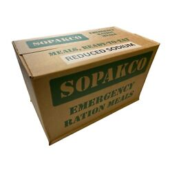 Kyпить Case SOPAKCO MRE Emergency Ready to Eat 09/20 Inspect Date REDUCED SODIUM на еВаy.соm