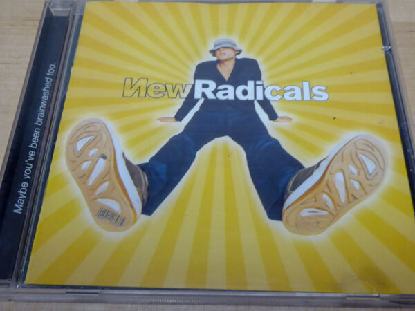 NEW RADICALS * Maybe You'VE Been Brainwashed Too * VG+ (CD)