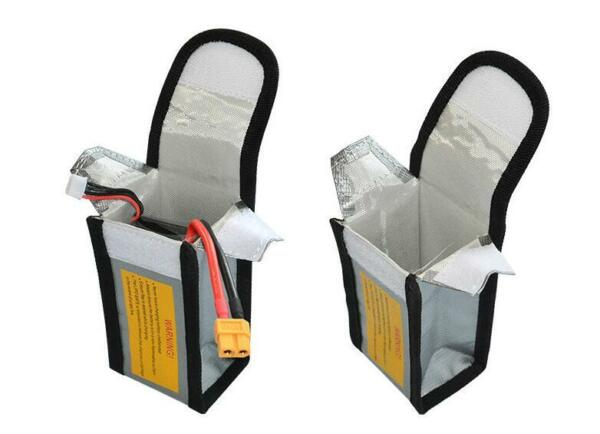 Fireproof Explosionproof RC LiPo Battery Safety Bag Safe Guard Charge Sack