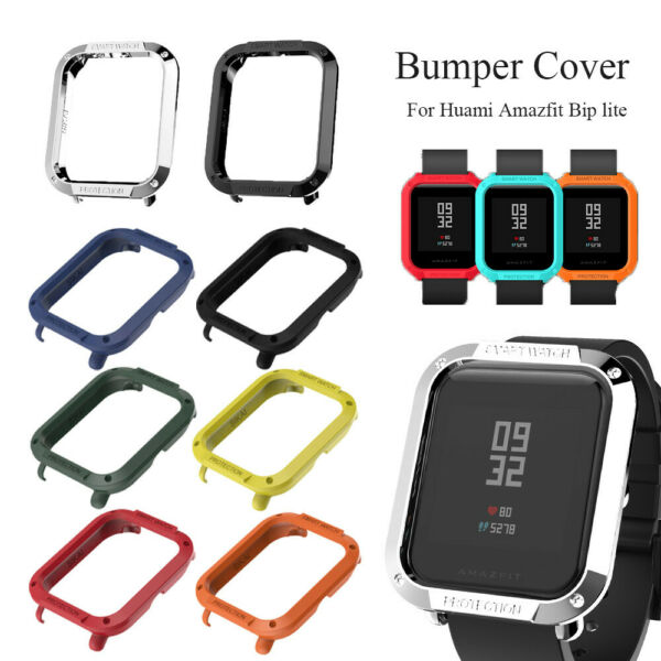 PC Shell Protective Case Cover Smart Watch Protector For Huami Amazfit Bip Lite.