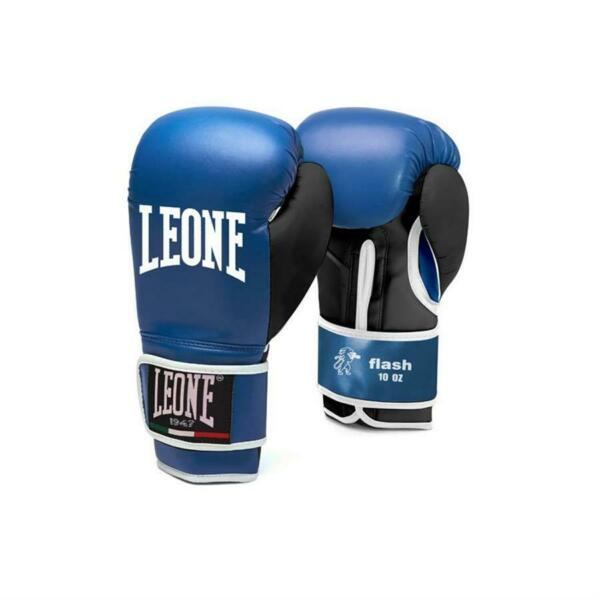LEONE 1947  GUANTONI FLASH GN083 - BOXE KICK BOXING THAI GUANTI 10oz