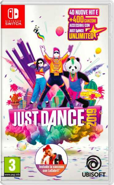 UBISOFT Videogioco per Switch Just Dance 2019 Party 3+ 1 03217
