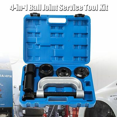 4-in-1 Ball Joint Service Tool Set with 4-wheel Drive Adapters for GM Vehicles