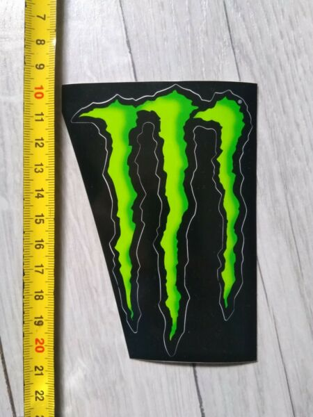 3 Stickers Monster Energy Drink 10 Cm