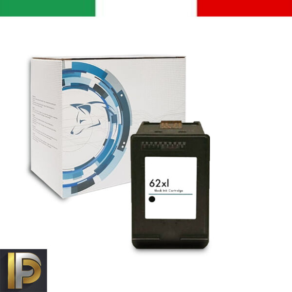 Cartuccia Compatibile HP62XL Nera per HP 5640 5600 5644 7600 5740 8040 8045